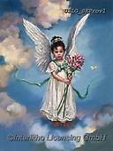 CHILDREN, KINDER, NIÑOS, paintings+++++,USLGSKPROV1,#K#, EVERYDAY ,Sandra Kock, victorian ,angels