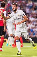 Real Madrid's player Nacho during the XXXVII Santiago Bernabeu Trophy in Madrid. August 16, Spain. 2016. (ALTERPHOTOS/BorjaB.Hojas) /NORTEPHOTO