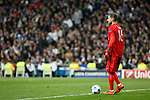 Paris Saint-Germain´s Kevin Trapp during Champions League soccer match between Real Madrid  and Paris Saint Germain at Santiago Bernabeu stadium in Madrid, Spain. November 03, 2015. (ALTERPHOTOS/Victor Blanco)