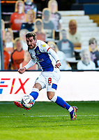 21st November 2020; Kenilworth Road, Luton, Bedfordshire, England; English Football League Championship Football, Luton Town versus Blackburn Rovers; Joe Rothwell of Blackburn Rovers passing thorugh midfield