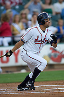 Kata, Matt 3407 (Andrew Woolley).jpg.  PCL baseball featuring the Oklahoma City Redhawks at Round Rock Express (in throwback Austin Senators uniforms) at Dell Diamond on July 17th 2009 in Round Rock, Texas. Photo by Andrew Woolley.