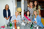 Annette Lowham from Ballyard celebrating her birthday with family and friens in Bella Bia on Saturday evening. Seated l to r: Caroline Hutchinson and Annette Lowham. Standing l to r: Bridget Mooney, Emma Lowham, Helen McElligott and Christine Leahy.