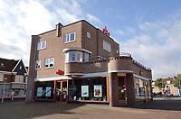 Nederland  Amsterdam-  2020.  Amsterdam Noord Mosplein. De kleinste vestiging van de Openbare Bibliotheek Amsterdam (OBA). OBA van der Pek.    Foto : ANP/ HH / Berlinda van Dam
