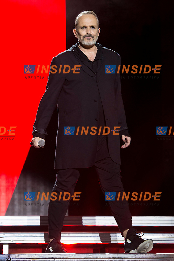 Spanish Singer Miguel Bose during the first stop of his tour 'Estare'' at Wizink Center in Madrid, June 23, 2017. Spain.<br /> (ALTERPHOTOS/BorjaB.Hojas/Insidefoto)<br /> Foto Alterphotos/Insidefoto