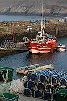 Europe/France/Bretagne/29/Finistère/Le Conquet: Le port ,caseyeur