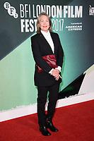 "Cherry Jones<br /> arriving for the London Film Festival 2017 screening of ""The Party"" at Embankment Gardens Cinema, London<br /> <br /> <br /> ©Ash Knotek  D3330  10/10/2017"