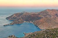 Porto-Kagio at cape Tenaro in Mani, Greece