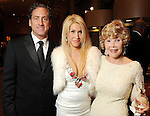 From left: Randy Fink and Leslie Tyler-Fink with Joanne Herring King at the Winter Ball benefiting the Houston Gulf Coast/South Texas Chapter of the Crohn's & Colitis Foudation of America at the InterContinental Hotel Saturday Jan. 23,2010.(Dave Rossman/For the Chronicle)