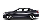 Car driver side profile view of a 2015-2017 Acura TLX Technology 4 Door Sedan
