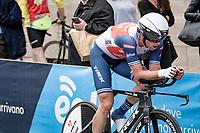 Koen de Kort (NED/Trek - Segafredo)<br /> <br /> 104th Giro d'Italia 2021 (2.UWT)<br /> Stage 1 (ITT) from Turin to Turin (8.6 km)<br /> <br /> ©kramon