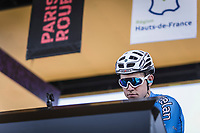 Wout Van Aert (BEL/Veranda's Willems - Crelan) at sign-on. <br /> <br /> 116th Paris-Roubaix (1.UWT)<br /> 1 Day Race. Compiègne - Roubaix (257km)