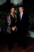 FILE PHOTO - Claude Lelouch et son epouse presentent TOUT CA POUR CA au Festival des Films du Monde, le 5 septembre 1993<br /> <br /> PHOTO :   Agence quebec Presse