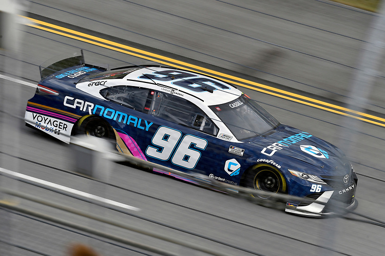 #96: Landon Cassill, Gaunt Brothers Racing, Toyota Camry Carnomaly