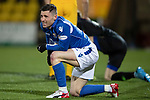 Livingston v St Johnstone…..22.01.20   Toni Macaroni Arena   SPFL<br />Michael O'Halloran after colliding with Ross McCrorie<br />Picture by Graeme Hart.<br />Copyright Perthshire Picture Agency<br />Tel: 01738 623350  Mobile: 07990 594431