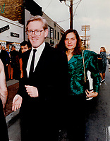 1990 FILE PHOTO - ARCHIVES -<br /> <br /> Off to the movies: Premier-elect Bob Rae and his wife Arlene Perly Rae head for a screening of Bethune, The Making Of A Hero at the Festival of Festivals last night.<br /> <br /> 1990<br /> <br /> PHOTO :  Erin Comb - Toronto Star Archives - AQP