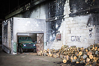 05.06.2013, Potocari ( Srebrenica ) Bosnia Herzegovina<br /> Interno della base delle forze ONU olandesi<br /> L'esercito Serbo nel 1995 ha massacrato a Srebrenica circa 8.000 tra uomini e ragazzi Musulmani, la piu' grande atrocita' commessa in Europa dalla seconda guerra mondiale. <br /> Foto Insidefoto / EXPA/ Juergen Feichter