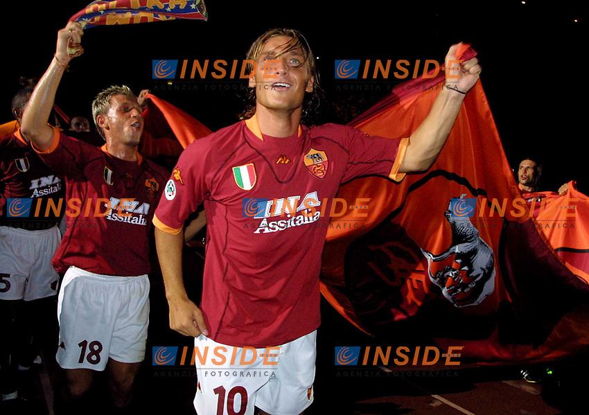 A.S. Roma 2001/2002<br /> Francesco Totti e Antonio Cassano