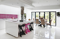 Kitchen in Candy Pink, London