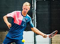 Rotterdam, Netherlands, August21, 2017, Rotterdam Open, Stephan Gerritsen (NED)<br /> Photo: Tennisimages/Henk Koster