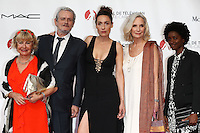 56th Monte-Carlo Television Festival opening red carpet. Cast of 'Nina'.