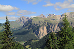 Sassolungo in the Dolomites, northern Italy, Europe.