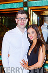 Jamie O'Sullivan Kilcummin and Bridie Kennelly Dingle celebrate their engagement with their family and friends in the Plaza Hotel on Saturday night