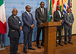 SC Stakeout,  Peace and security in Africa