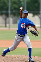George Pineda  - Chicago Cubs - 2009 extended spring training.Photo by:  Bill Mitchell/Four Seam Images