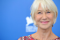British actress Helen Mirren attends a photo call for the movie 'Ella & John - The Leisure Seeker' at the 74th Venice Film Festival, Venice Lido, September 3, 2017. <br /> UPDATE IMAGES PRESS/Marilla Sicilia<br /> <br /> *** ONLY FRANCE AND GERMANY SALES ***