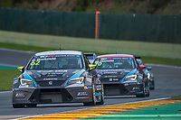 #62 B3 Racing Team Hungary (HUN). SEAT Leon TCR. Dusan Borkovic (SRB). TCR Race 1 as part of the WEC 6 Hours of Spa-Francorchamps 2016 at Circuit Spa-Francorchamps, Stavelot, Spa-Francorchamps, Belgium . May 06 2016. World Copyright Peter Taylor/PSP.