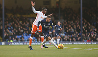 Southend United's Michael Kightly and Blackpool's Donervon Daniels<br /> <br /> Photographer Rob Newell/CameraSport<br /> <br /> The EFL Sky Bet League One - Southend United v Blackpool - Saturday 17th November 2018 - Roots Hall - Southend<br /> <br /> World Copyright © 2018 CameraSport. All rights reserved. 43 Linden Ave. Countesthorpe. Leicester. England. LE8 5PG - Tel: +44 (0) 116 277 4147 - admin@camerasport.com - www.camerasport.com