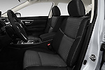 Front seat view of 2017 Nissan Altima S 4 Door Sedan Front Seat  car photos
