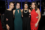 """From left: DPW's Hailey Kleiderer, Hayden Rome, Katelyn Roche and Mary Ann Cuellar at the San Luis Salute """"Space Pirates"""" VIP reception Friday February 24,2017. (Dave Rossman Photo)"""