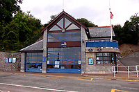 2020 02 11 RNLI Lifeboat station in Penarth, south Wales, UK.