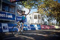 Quinten Hermans (BEL/Telenet-Fidea) wins the U23 race<br /> <br /> Koppenbergcross 2015