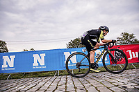 Grace Brown (AUS/Mitchelton-Scott) up the Paterberg<br /> <br /> 17th Ronde van Vlaanderen 2020<br /> Elite Womens Race (1.WWT)<br /> <br /> One Day Race from Oudenaarde to Oudenaarde 136km<br /> <br /> ©kramon