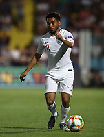 Football: Uefa under 21 Championship 2019, England - France, Dino Manuzzi stadium Cesena Italy on June18, 2019.<br /> England's Jay DaSilva in action during the Uefa under 21 Championship 2019 football match between England and France at Dino Manuzzi stadium in Cesena, Italy on June18, 2019.<br /> UPDATE IMAGES PRESS/Isabella Bonotto