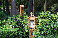 Stations of the Cross, Franciscan Monastery of the Holy Land in America, Washington DC, USA