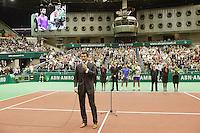 25-2-07,Tennis,Netherlands,Rotterdam,ABNAMROWTT, Richard Krajicek speeks to the crowd