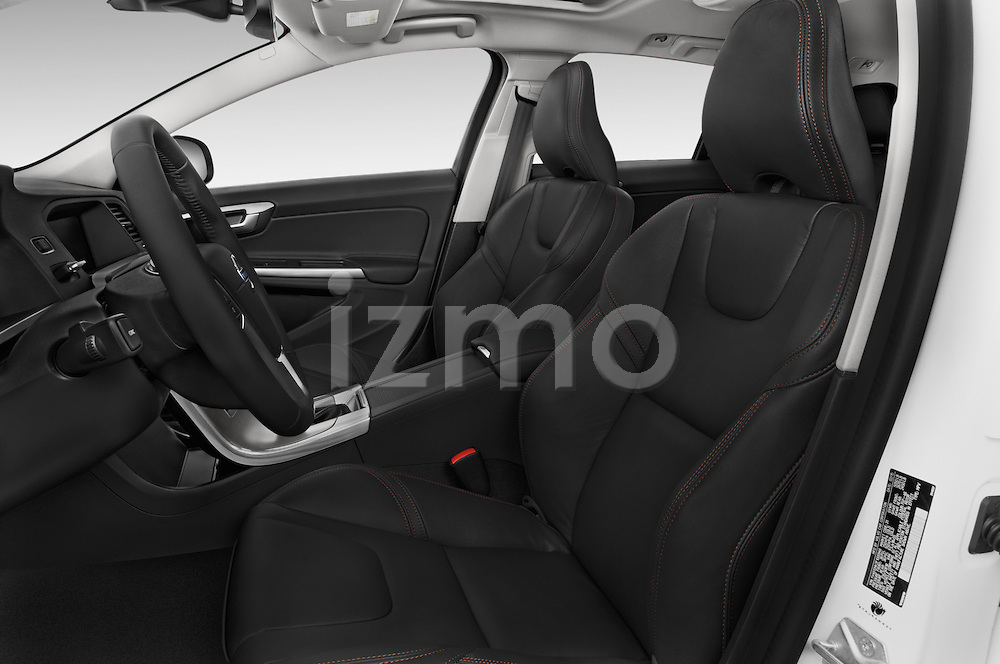 Front seat view of a 2015 Volvo V60 T5 Cross Country AWD 4 Door Wagon Front Seat car photos