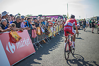 Anthony Perez (FRA/Team Cofidis) pre race.<br /> <br /> Stage 1: Noirmoutier-en-l'Île > Fontenay-le-Comte (189km)<br /> <br /> Le Grand Départ 2018<br /> 105th Tour de France 2018<br /> ©kramon