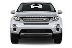 Car photography straight front view of a 2016 Land Rover Discovery Sport HSE Luxury 5 Door Suv Front View