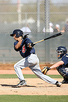 Argenis Martinez, Cleveland Indians 2010 minor league spring training..Photo by:  Bill Mitchell/Four Seam Images.
