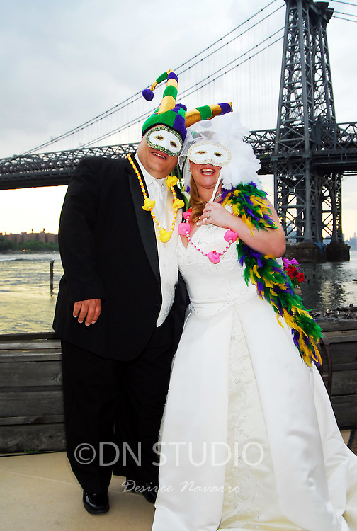 The wedding of Kelly Bryne and Eugene Fasano at Giando On The Water in Brooklyn, New York on Friday, June 29,,2007.
