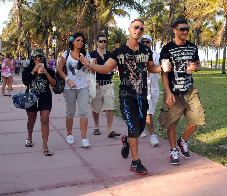 """MIAMI - JULY 3:  Vinny Guadagnino has bailed on the """"Jersey Shore"""" house and the show once again -- but this time, we're told it's for good. <br /> <br /> <br /> Sources directly connected to the cast tell TMZ ... Vinny bolted from the house late last night after getting into an argument with another cast member. We're told Vinny was feeling """"burned out"""" and went back home to Staten Island. We have confirmed that he is at his house in Staten Island right now.<br /> <br /> Vinny threatened to leave a few days ago, after he complained of """"being homesick."""" We're told the cast was able to talk him into coming back, but that didn't last long.<br /> <br /> Sources connected with the show say Vinny has been a pain in the ass and no one will be getting on their knees, begging him to come back. <br /> <br /> TMZ spoke with executive producer Sally Ann Salsano, who tells us, """"We do not comment on the production of the show.""""  on July 3, 2011 in Miami, Florida.<br /> <br /> <br /> People:  Vinny Guadagnino<br /> <br /> Transmission Ref:  FLXX<br /> <br /> Must call if interested<br /> Michael Storms<br /> Storms Media Group Inc.<br /> 305-632-3400 - Cell<br /> 305-513-5783 - Fax<br /> MikeStorm@aol.com<br /> www.StormsMediaGroup.com"""