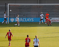 Brooke Chaplen of Reading scores the first goal during Tottenham Hotspur Women vs Reading FC Women, Barclays FA Women's Super League Football at the Hive Stadium on 7th November 2020
