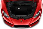 Car Stock 2019 Lamborghini Huracan - 2 Door Coupe Engine  high angle detail view