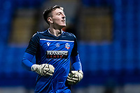Bolton Wanderers' Billy Crellin warming up before the match <br /> <br /> Photographer Andrew Kearns/CameraSport<br /> <br /> The EFL Sky Bet League Two - Bolton Wanderers v Mansfield Town - Tuesday 3rd November 2020 - University of Bolton Stadium - Bolton<br /> <br /> World Copyright © 2020 CameraSport. All rights reserved. 43 Linden Ave. Countesthorpe. Leicester. England. LE8 5PG - Tel: +44 (0) 116 277 4147 - admin@camerasport.com - www.camerasport.com