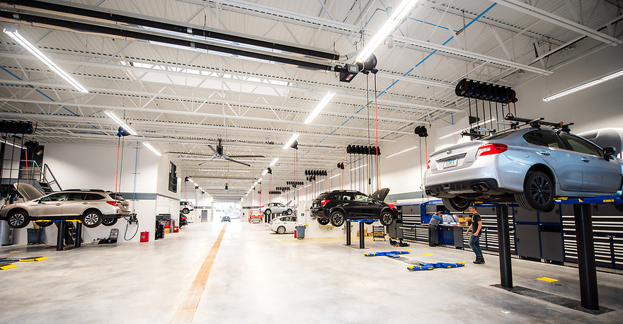 Luther Automotive service center of Minneapolis Minnesota