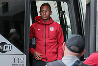 Philadelphia, PA - Wednesday July 19, 2017: Juan Agudelo during a 2017 Gold Cup match between the men's national teams of the United States (USA) and El Salvador (SLV) at Lincoln Financial Field.